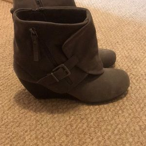 Blowfish grey booties
